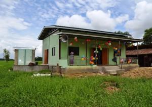 ミャンマー学習小屋改修事業