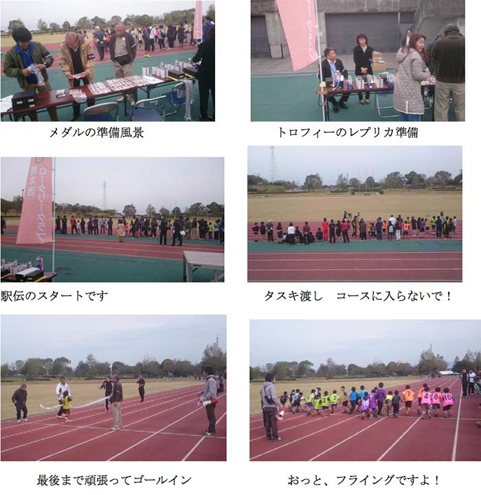 養護施設で生活する子供達のための駅伝・マラソン大会