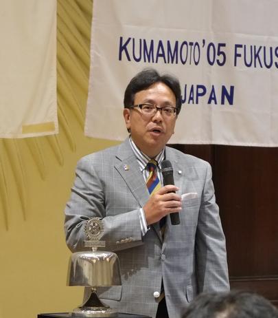 熊本第2グループ ガバナー公式訪問を終えて(熊本菊南)