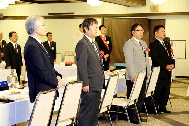 熊本第1グループ ガバナー公式訪問を終えて(荒尾)