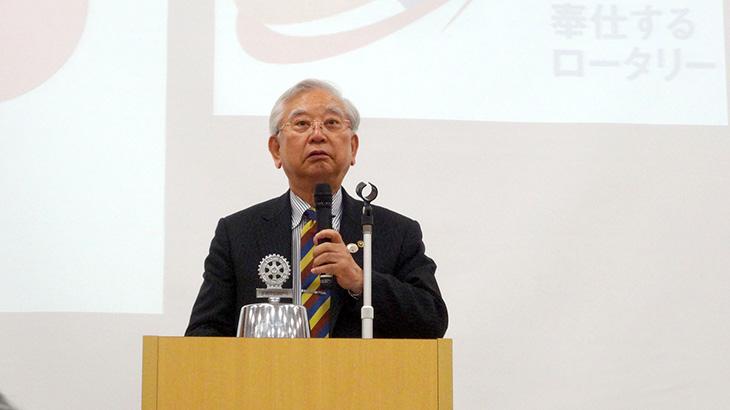 ロータリー財団・米山記念奨学会合同セミナー報告