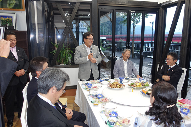 熊本第1グループ ガバナー公式訪問を終えて(人吉)