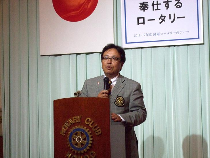 熊本第7グループ ガバナー公式訪問を終えて(本渡)