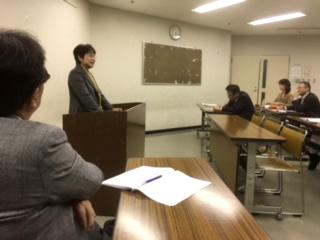 米山カウンセラー報告会・意見交換会について