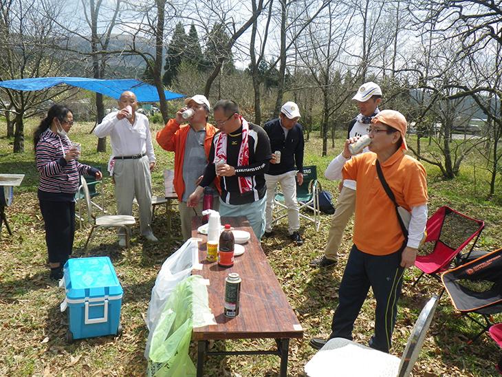 熊本西稜の森清掃奉仕(熊本西稜RC)