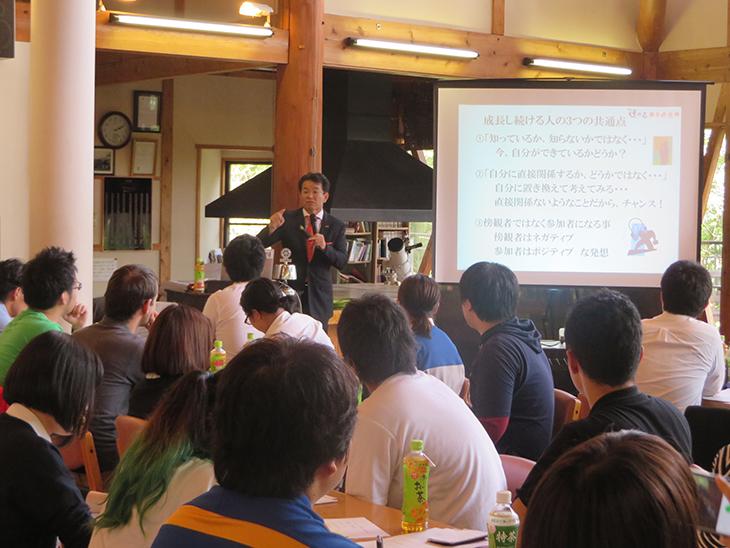 RYLAセミナー「知・情・意トライアングルから学ぶリーダー論」報告