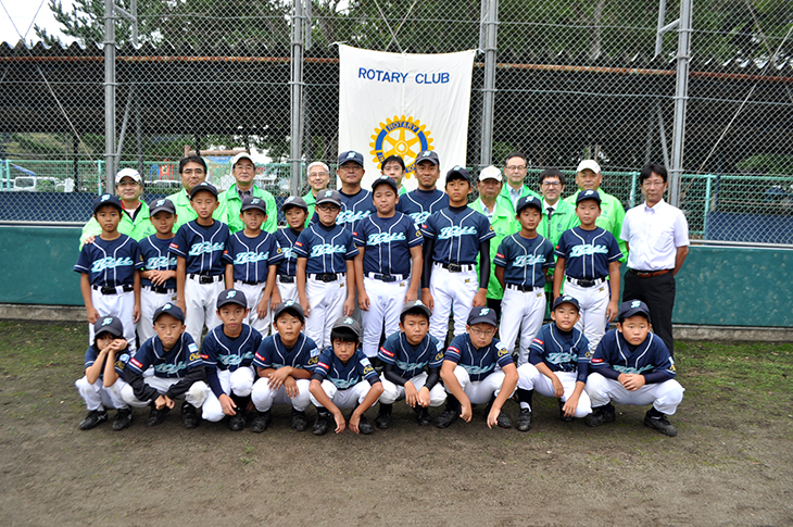 第32回日出ロータリークラブ旗争奪少年野球大会の開催