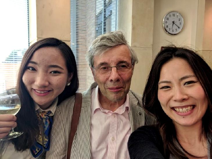 ロータリー財団奨学生中間報告 松本 冴未(2018年7月1日)