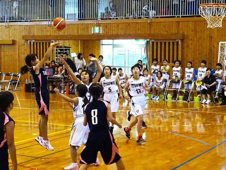 ミニバスケットボール大会開催(西天草RC)