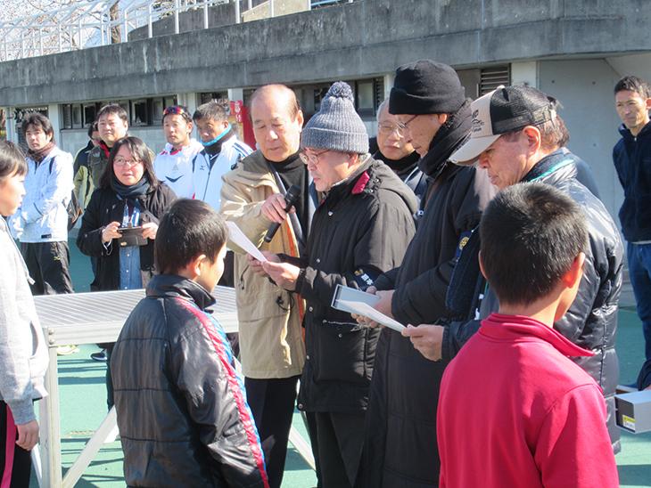 熊本西ロータリー杯 駅伝・マラソン大会 開催報告(熊本西RC)