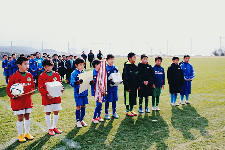 第32回 西天草ロータリークラブ少年サッカー大会 開催