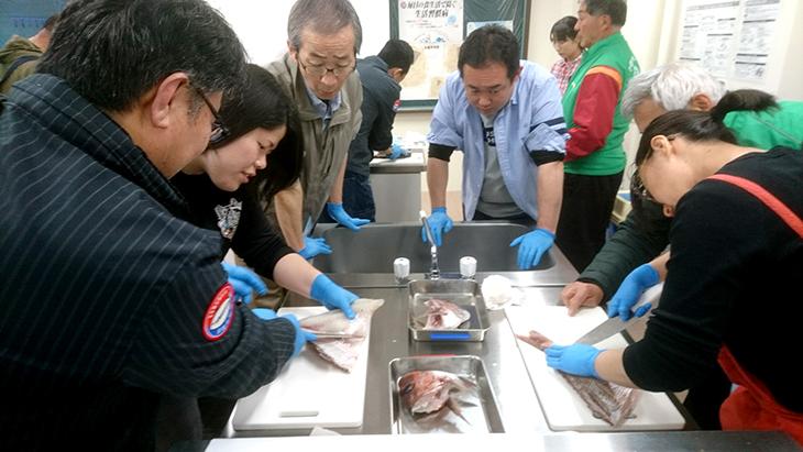 魚捌き方教室(牛深RC)