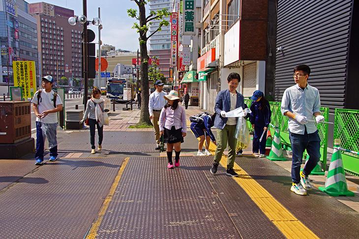 「ロータリー家族清掃活動」に参加しました。(2720 Japan O.K.ロータリーEクラブ)