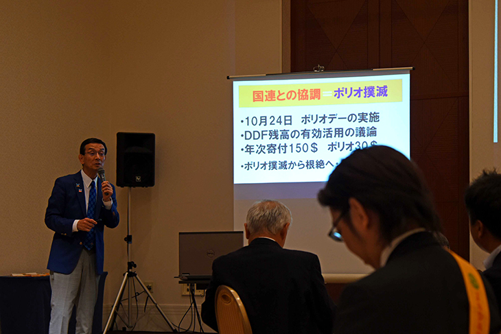 大分第4グループ ガバナー公式訪問を終えて(2720 Japan O.K.ロータリーEクラブ)
