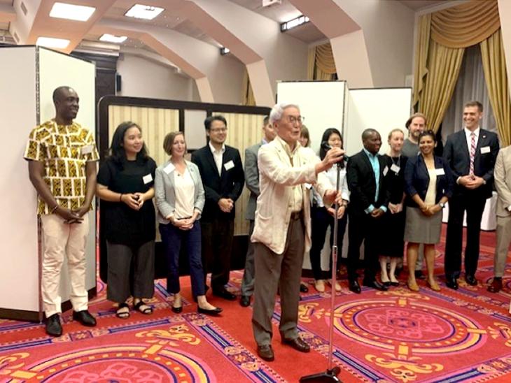 ロータリー平和フェロー第18期生 オリエンテーション・歓迎パーティー報告書