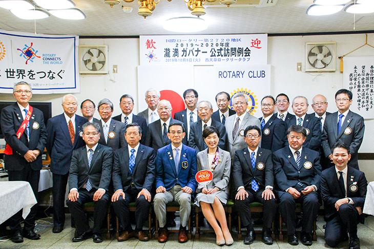 熊本第1グループ ガバナー公式訪問を終えて(西天草)
