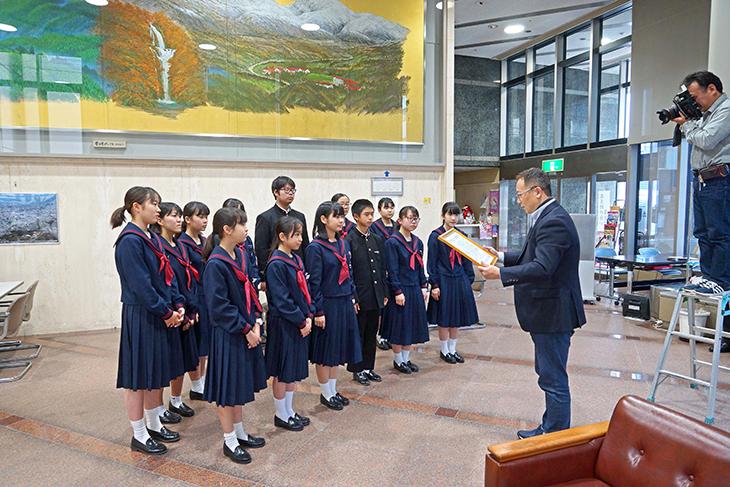 大分大学附属中学校インターアクトクラブ(2720 Japan O.K.ロータリーEクラブ)