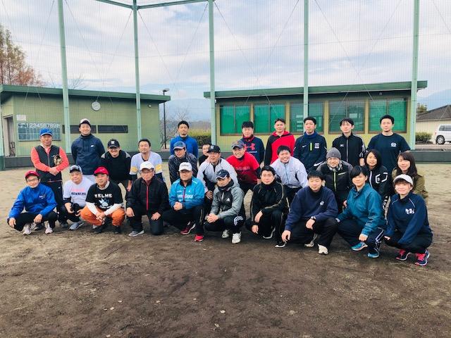 多良木警察署との親睦ソフトボール大会(多良木RC)