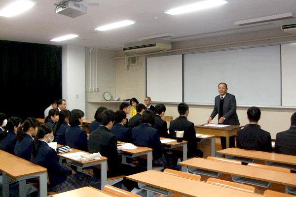 天草工業高校インターアクトクラブ例会(本渡RC)