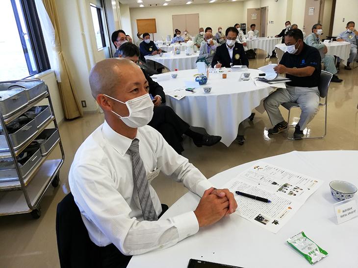 10月13日例会 消防士登場!(津久見RC)
