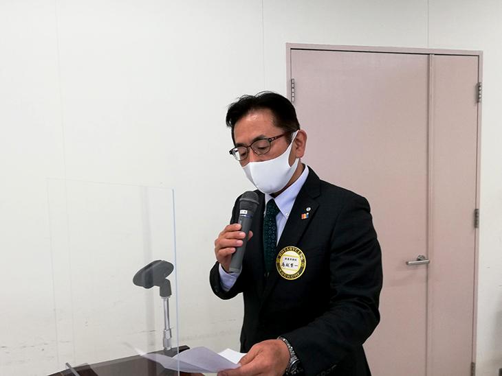 12月22日最終例会&旅立ち(津久見RC)